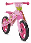 NIC874 Flamingo Wooden Balance Bike